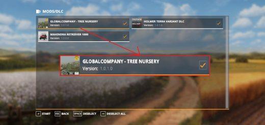 GlobalCompany - tree nursery v1.0