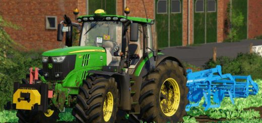 John Deere 6R Pack by 6195rpower official