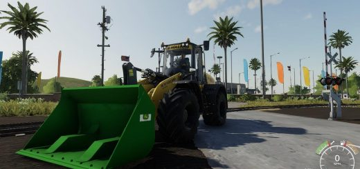 John Deere high tip bucket v1.0