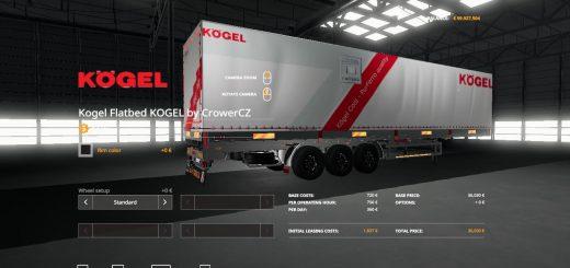 KOGEL ORIGINAL AUTOLOADER TRAILER v1.0