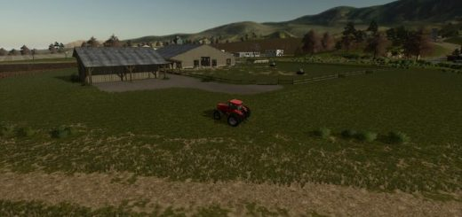 Large Cattle Barn v1.0