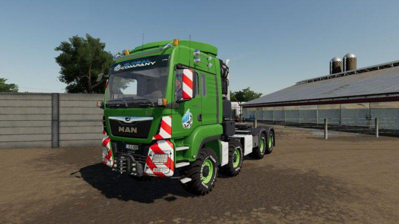 MAN TGS HEAVY DUTY v1.1