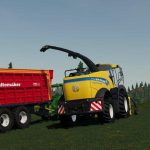 New Holland FR 780 (manual pipe) v1.0