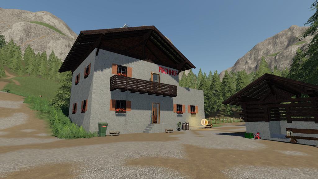 Tyrolean Farm - Buildings v1.0