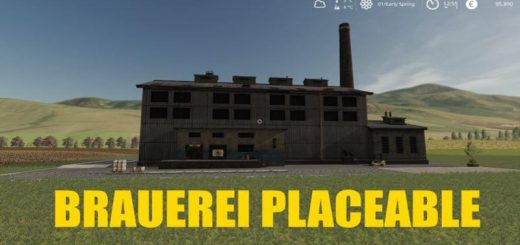 BREWERY - GLOBAL COMPANY (PLACEABLE) V1.3