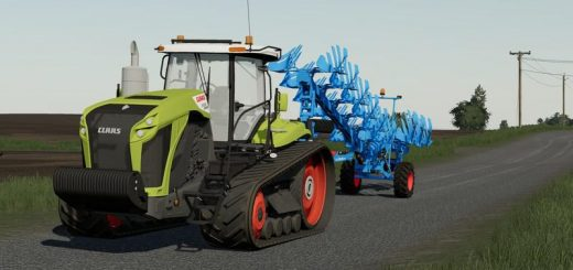 CLAAS XERION WITH TRACKS V1.0