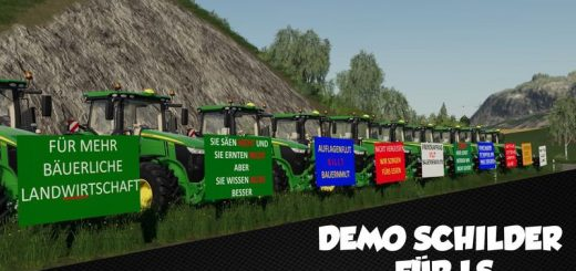 DEMO SIGNS WITH SAYINGS V1.0