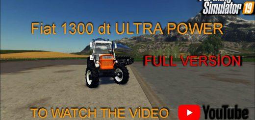 FIAT 1300DT V1.0