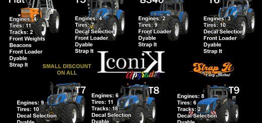 ICONIK NEW HOLLAND TRACTORS V1.0