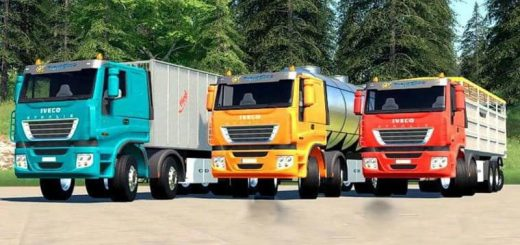 IVECO STRALIS CLIXTAR TRUCK PACK (6 MODULES) V19.1.0.5