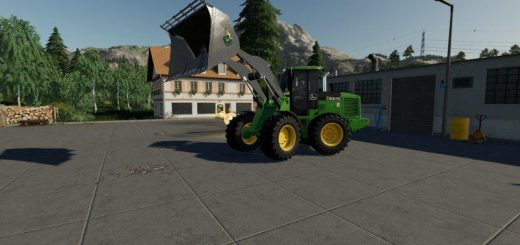 JOHN DEERE 524K WHEEL LOADER & SHOVEL V1.0