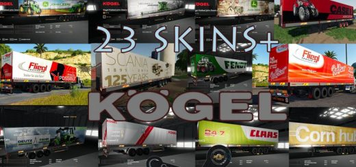 KOGEL AUTOLOADER PACK TRAILERS 23+ SKINS BY CROWERCZ