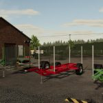 LIZARD SMALL WOOD TRAILER V1.0