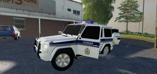 MERCEDES-BENZ G55 AMG POLICE V1.0