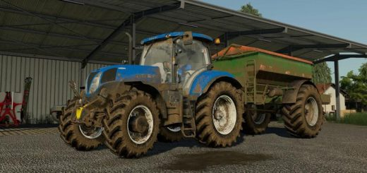 NEW HOLLAND T6 + T7 200 SERIES V1.0