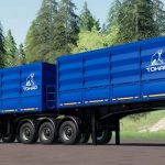 TONAR 95411 ARTICULATED GRAIN TRAILER V1.0
