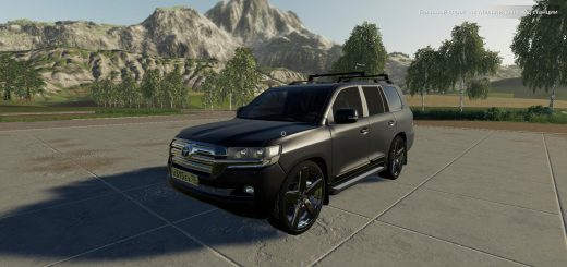 TOYOTA LAND CRUISER 200 2016 V1.0