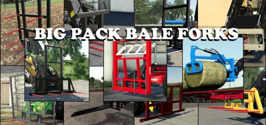 BIG PACK BALE FORKS V1.0