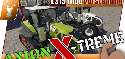 CLAAS AXION TERRA TRAC X-TREME EDITION V1.0.0.1