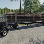 Fliegl Timber Runner Wide With Autoload Wood v1.0