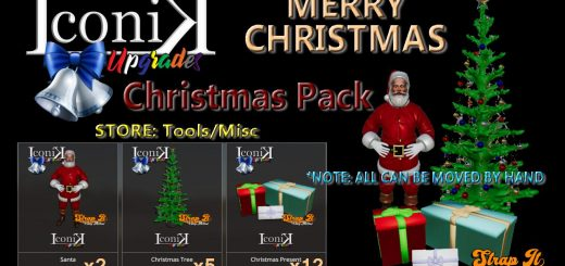 ICONIK CHRISTMAS PACK V1.0