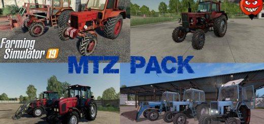 MTZ BELARUS NEW PACK V1.0