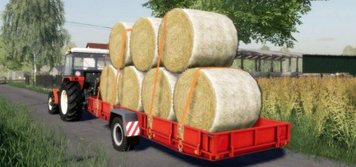 NP-25 AUTOLOAD BALE TRAILER V1.0