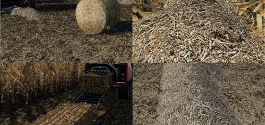 CORN & SOYBEAN STRAW BALES V1.0