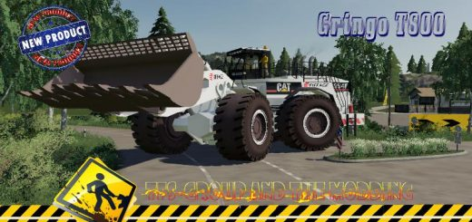 WHEEL LOADER CAT994 EIFFAGE V1.5