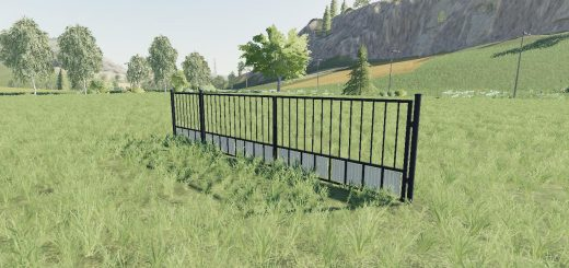 BLACK PLACEABLE GATE V1.0
