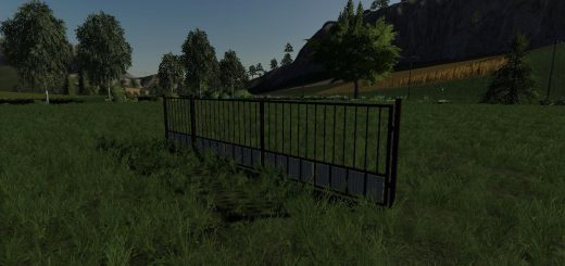 BRONZE PLACEABLE GATE V1.0