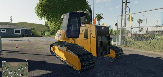 CATERPILLAR D6K WINCH DOZER V1.0