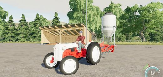 FORD 8N EARLY NARROW TIRES V1.0