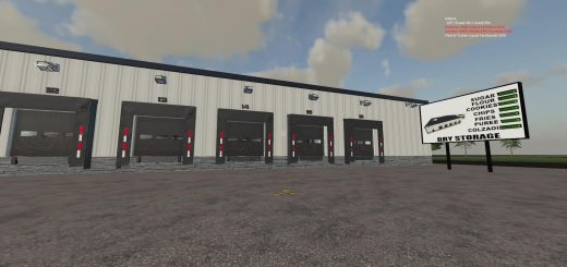FS19 WAREHOUSE DRYSTORAGE BETA