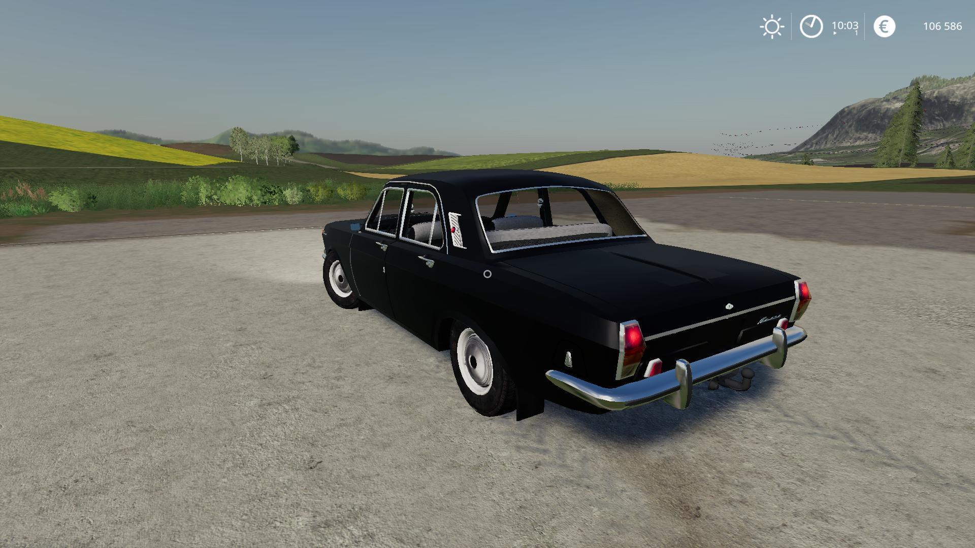 GAZ 24 VOLGA V1.0 | FS19 mods, Farming simulator 19 mods