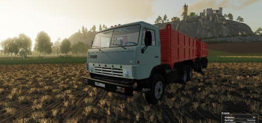 KAMAZ 55102 & NEFAZ 8560 V1.0