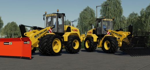 NEW HOLLAND W170C EDIT V1.2