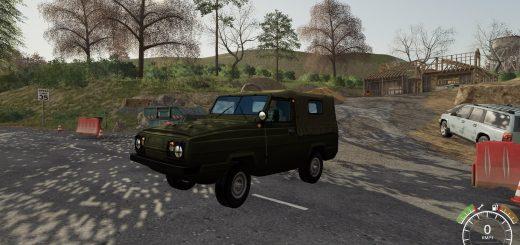 UAZ 3907 JAGUAR V1.0