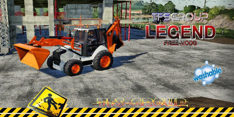 BACKHOE LOADER 420F2 POLIMIX V1.5