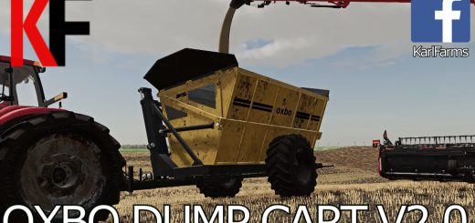 OXBO HIGH TIP DUMP CART V2.0