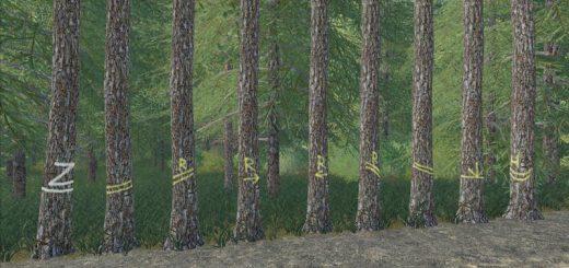 PLACEABLE SKIDTRAIL TREES V1.0