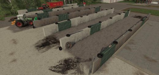 SMALL BUNKER SILO SET V1.0