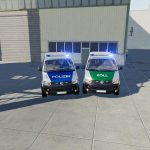 VW T5 POLICE AND CUSTOMS V1.0