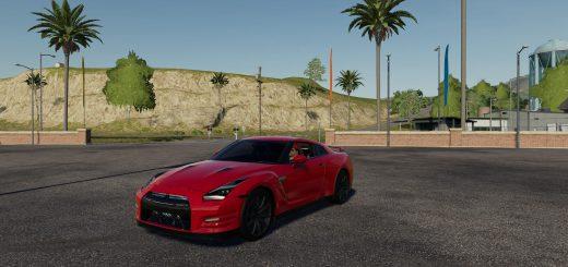 2015 NISSAN GTR V1.0
