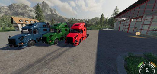 BLUE RED GREEN VOLVO 780 V1.0