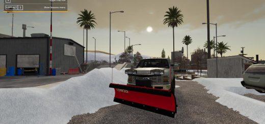 BOSS SNOW PLOW FS19 AND FS17 MODDING V1.0