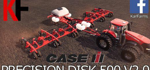 CASE IH PRECISION DISK 500T V2.0