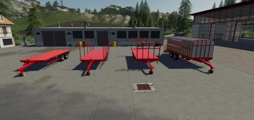 JOHNSTON BROTHERS MODULAR TRAILER V1.0