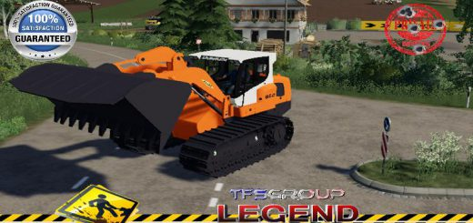 LIEBHERR LR 834 COLAS V1.5