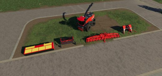 NEW HOLLAND SHREDDER PACK V1.0